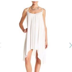 Elan Slip Dress Swim Cover Up White Medium